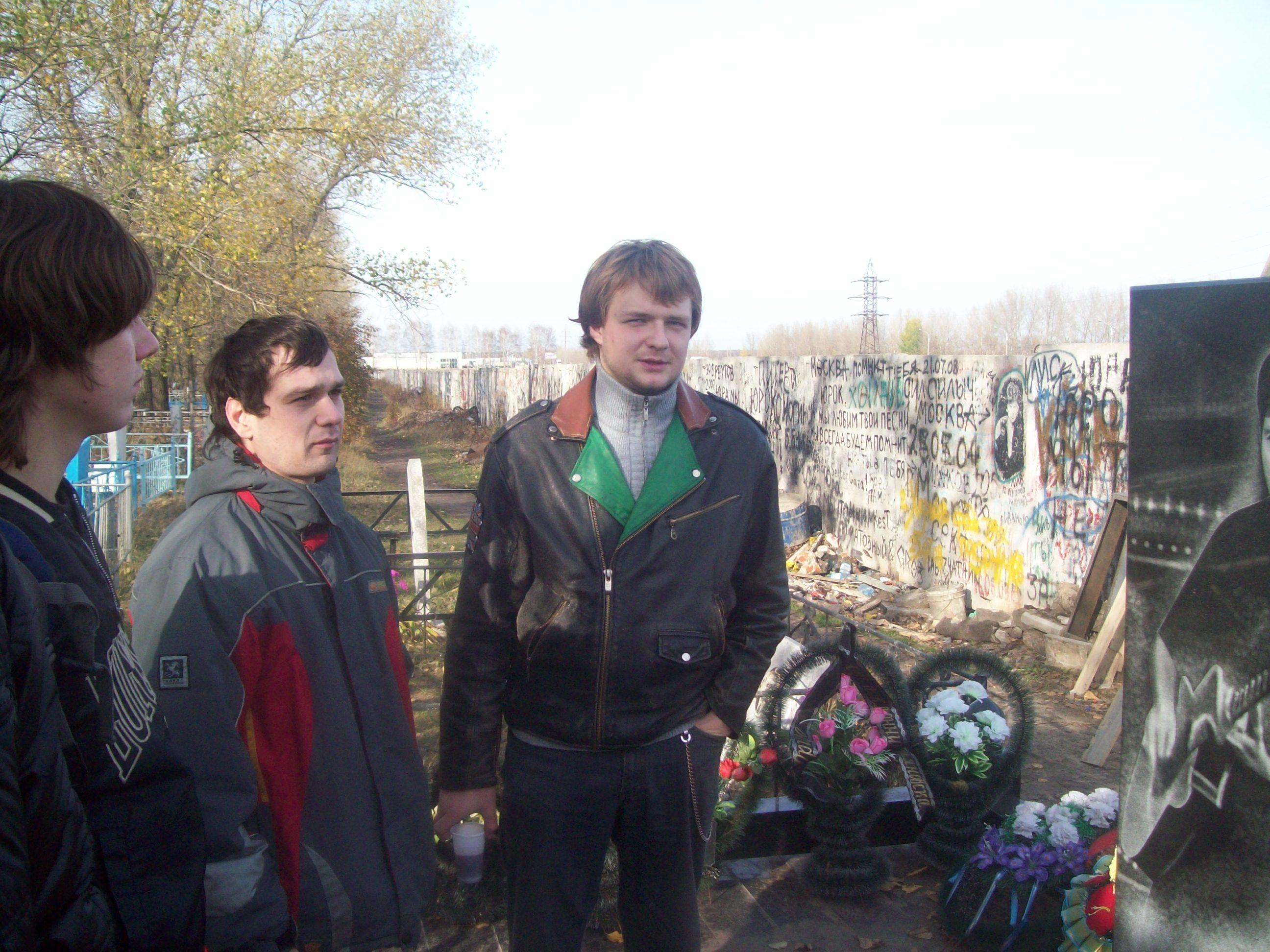 На кладбище у могилы Хоя (Сектор Газа) - седьмая фотография